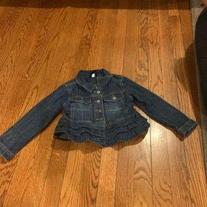 Jean jacket size 4T